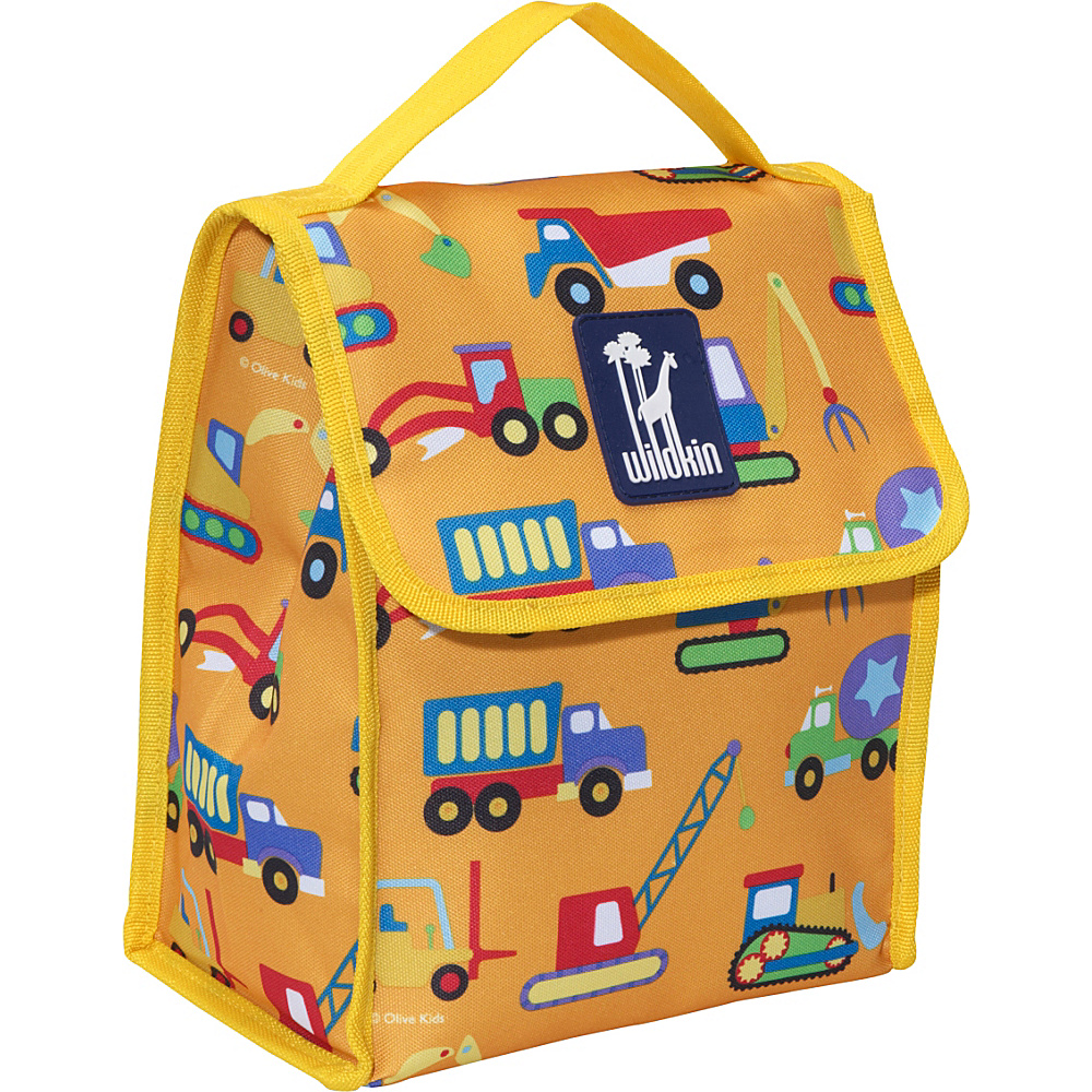 Wildkin Olive Kids Lunch Bag Under Construction - Wildkin Travel Coolers - Travel Accessories, Travel Coolers