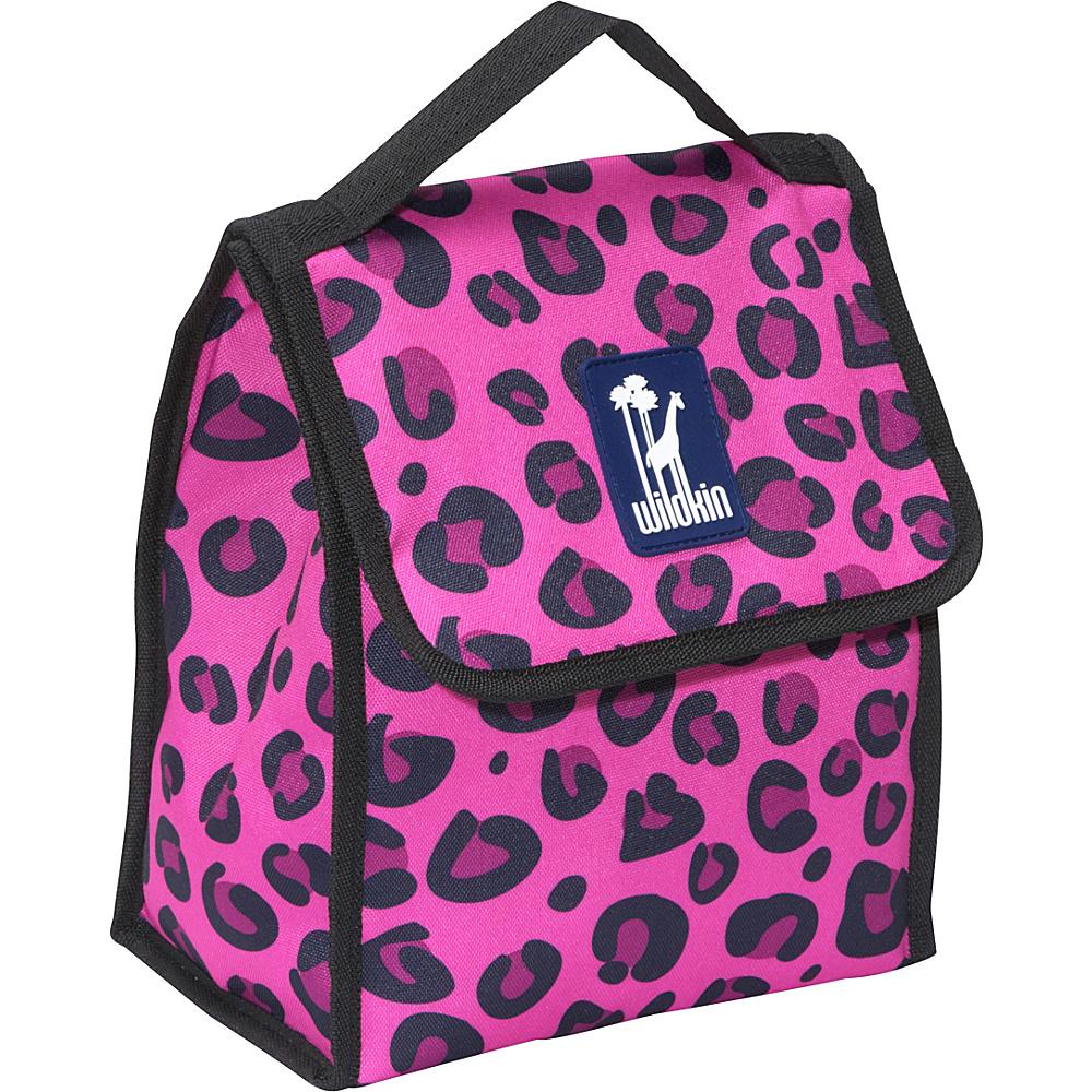 Wildkin Olive Kids Lunch Bag Pink Leopard - Wildkin Travel Coolers - Travel Accessories, Travel Coolers