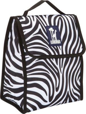 Wildkin Olive Kids Lunch Bag Zebra - Wildkin Travel Coolers