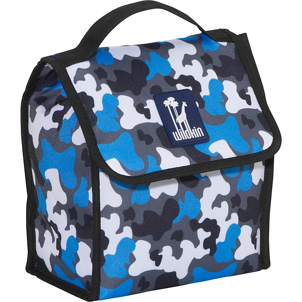 Wildkin Olive Kids Lunch Bag Blue Camo - Wildkin Travel Coolers - Travel Accessories, Travel Coolers