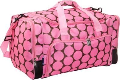 Wildkin Big Dot Pink Weekender Duffel Big Dots - Pink - Wildkin Travel Duffels