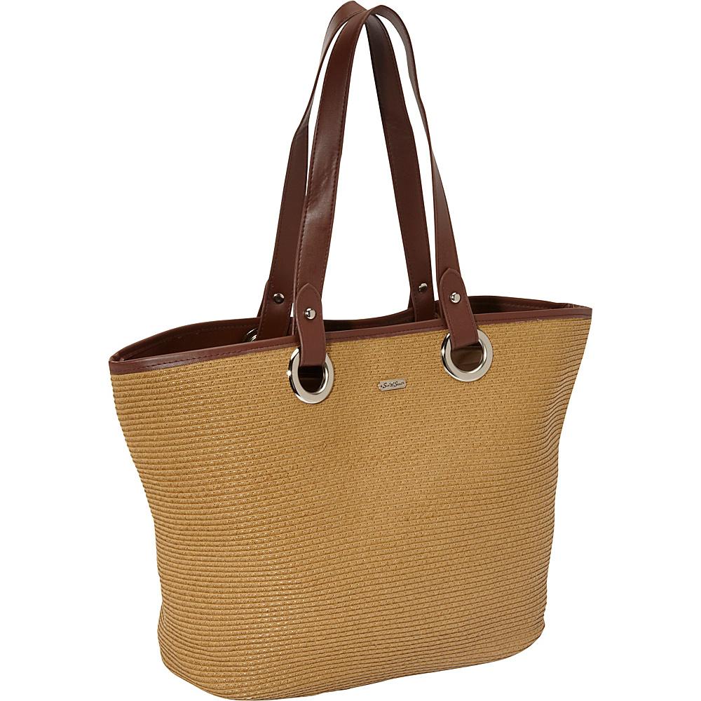 Sun 'N' Sand Tutti Frutti Tan - Sun 'N' Sand Straw Handbags