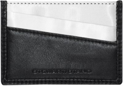 Stewart Stand Color Block Collection Card Stainless Steel Wallet  - RFID Black - Stewart Stand Women's Wallets
