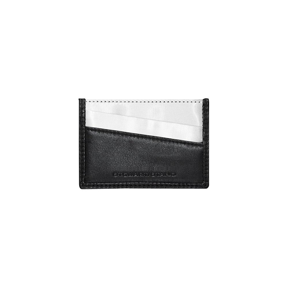 Stewart Stand Color Block Collection Card Stainless Steel Wallet RFID Black Stewart Stand Women s Wallets