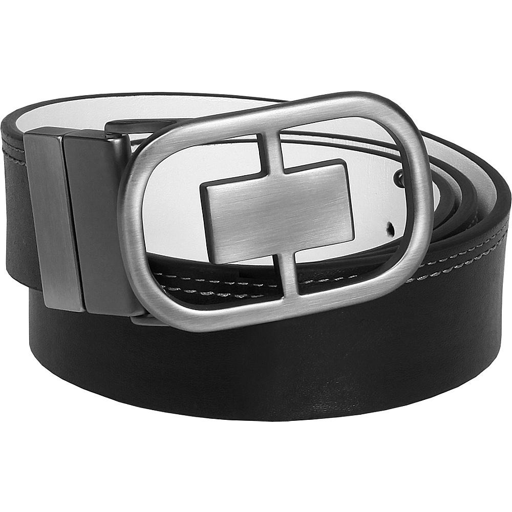 OGIO Reversible Belt - Black/White Black/White 32