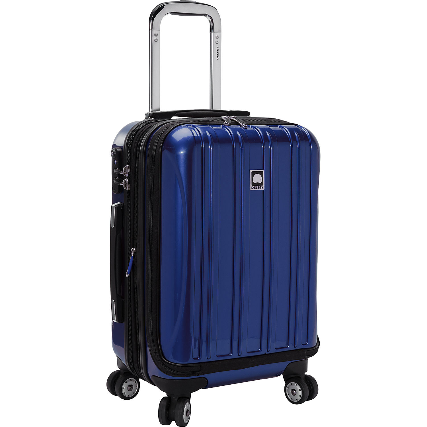 delsey helium aero int 39 l c o exp spinner trolley. Black Bedroom Furniture Sets. Home Design Ideas