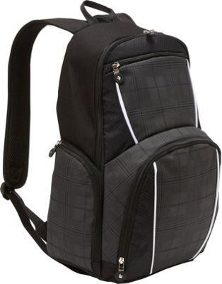 Bellino Matrix Computer Backpack Black - Bellino Business & Laptop Backpacks