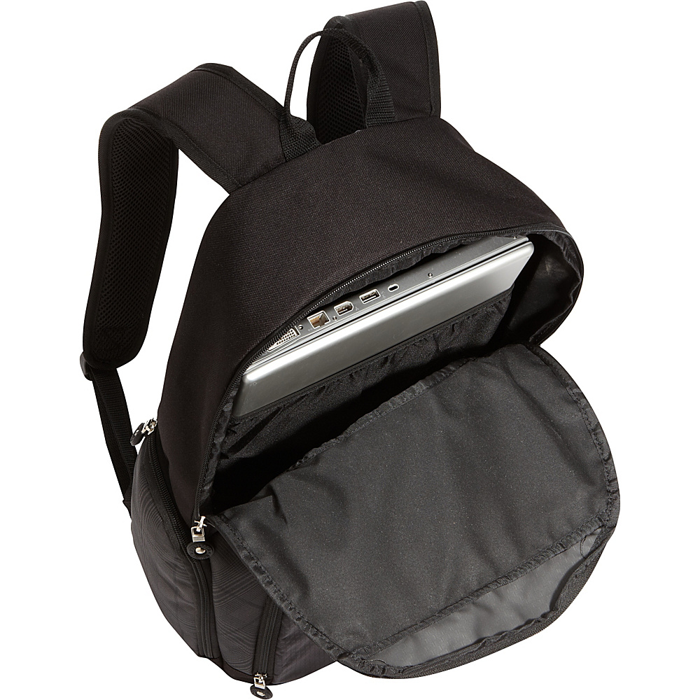 Bellino Matrix Computer Backpack Black - Bellino Business & Laptop Backpacks