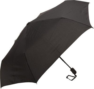 Samsonite Travel Accessories Compact Auto Open/Close Umbrella Black - Samsonite Travel Accessories Umbrellas and Rain Gear
