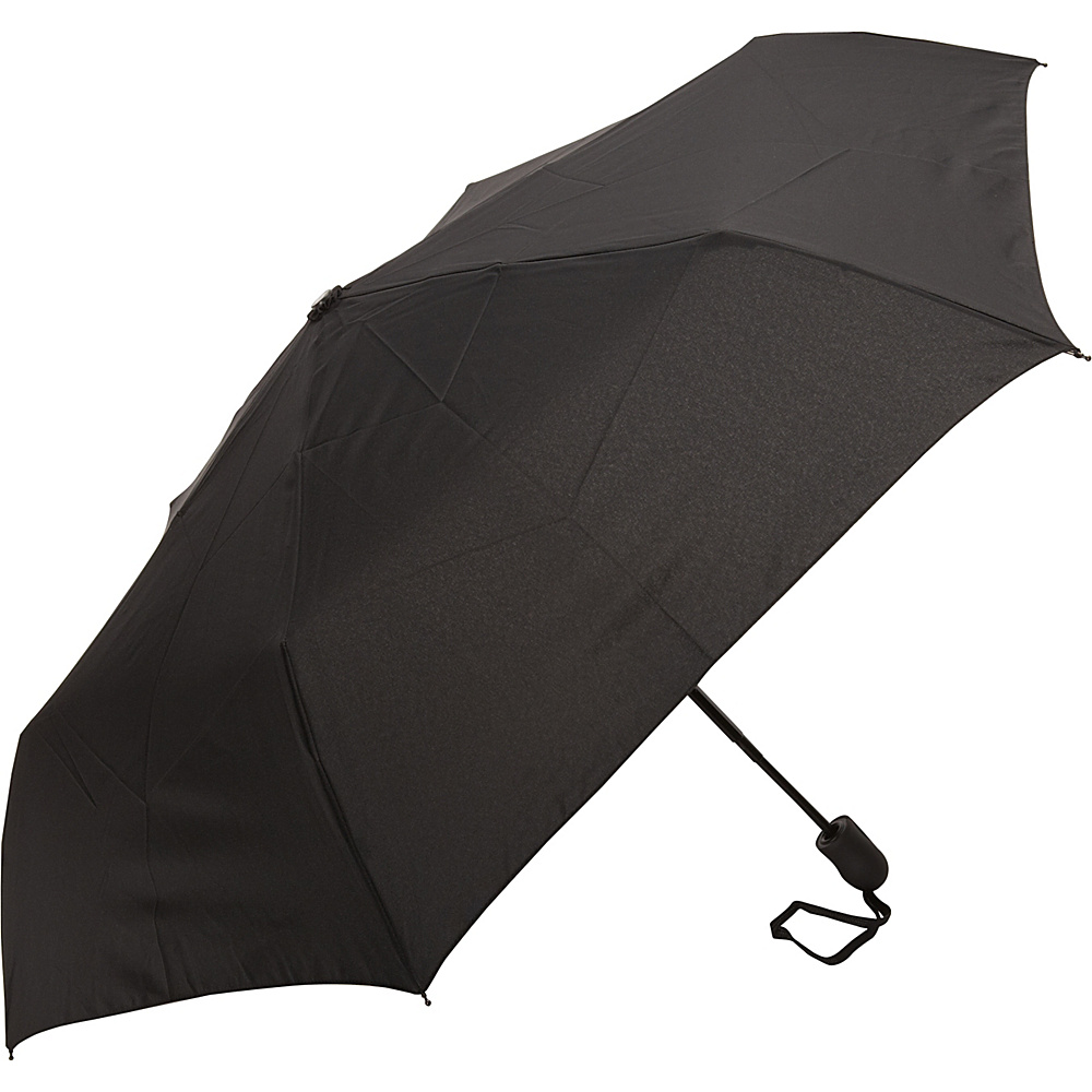 Samsonite Travel Accessories Compact Auto Open Close Umbrella Black Samsonite Travel Accessories Umbrellas and Rain Gear