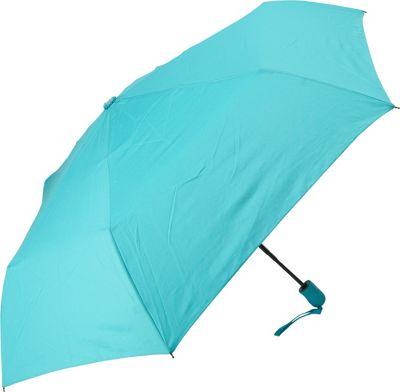 Samsonite Travel Accessories Compact Auto Open/Close Umbrella Teal - Samsonite Travel Accessories Umbrellas and Rain Gear