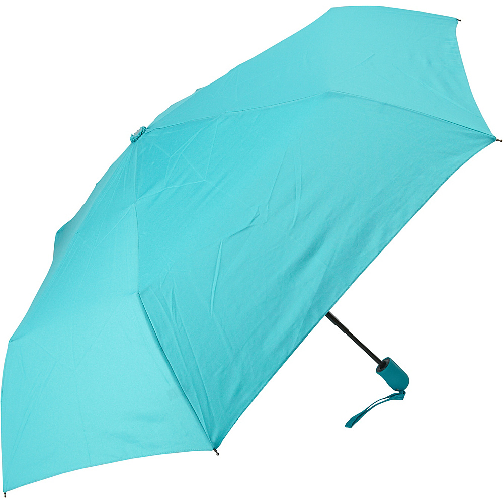 Samsonite Travel Accessories Compact Auto Open Close Umbrella Teal Samsonite Travel Accessories Umbrellas and Rain Gear