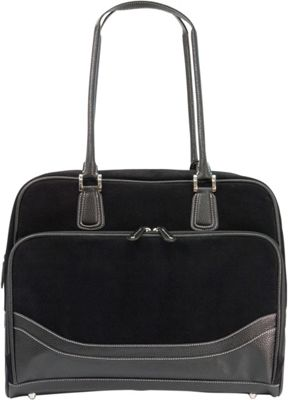 Mobile Edge Classic Corduroy Tote - Large - 16 inch/17 inch Mac Black - Mobile Edge Women's Business Bags