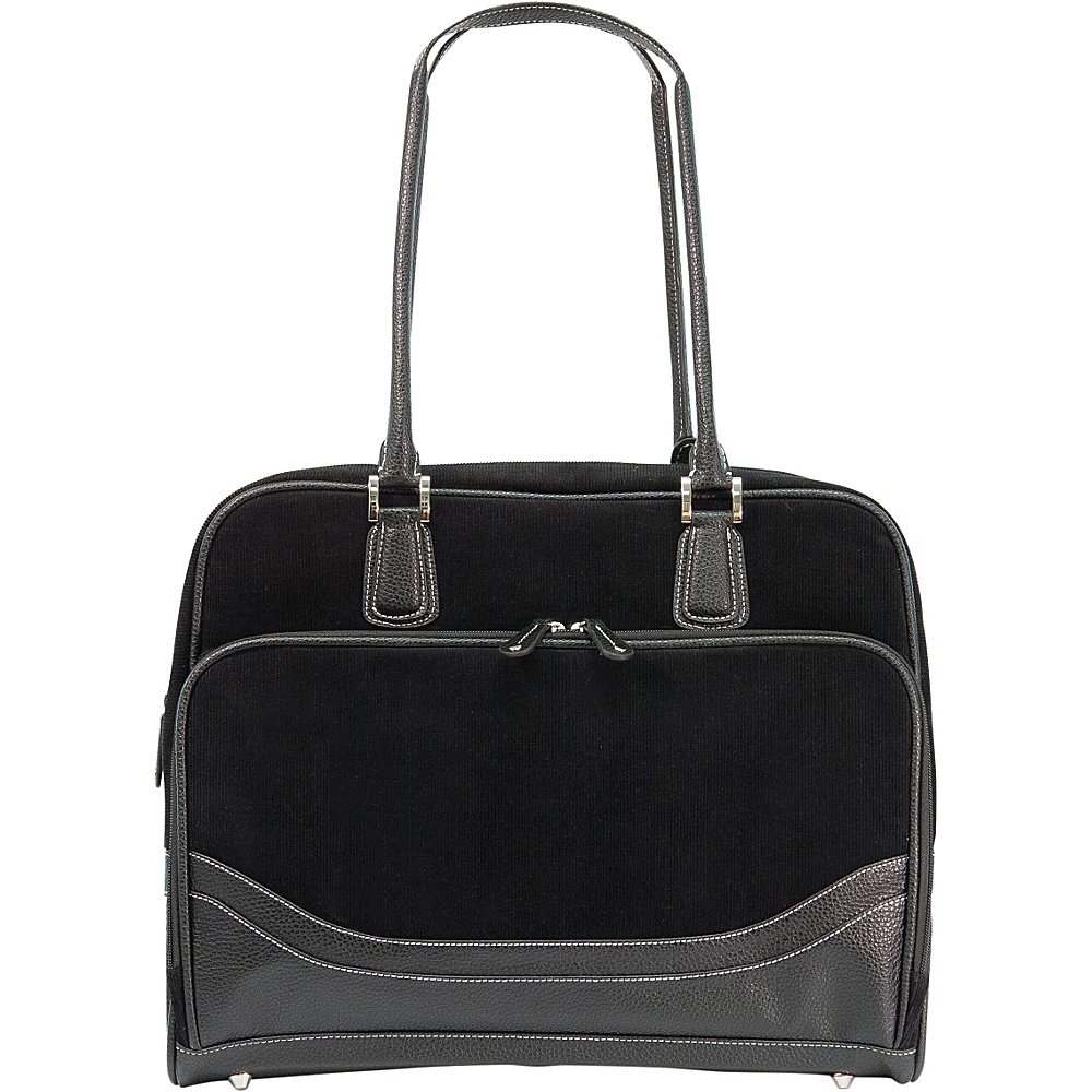"Mobile Edge Classic Corduroy Tote - Large - 16""/17"" Mac Black - Mobile Edge Women's Business Bags"
