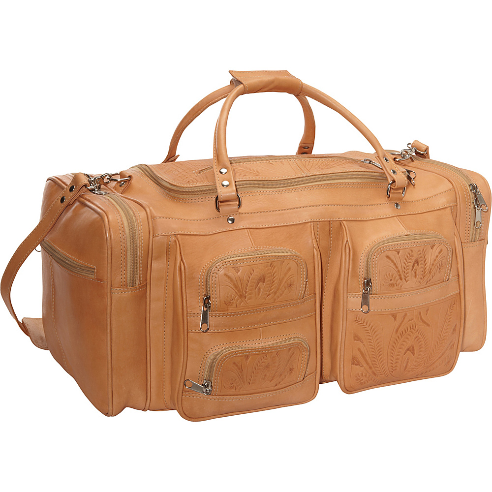 Ropin West Duffel Bag Natural Ropin West Travel Duffels