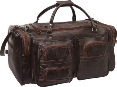 Ropin West Duffel Bag Brown - Ropin West Travel Duffels