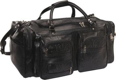 Ropin West Duffel Bag Black - Ropin West Travel Duffels