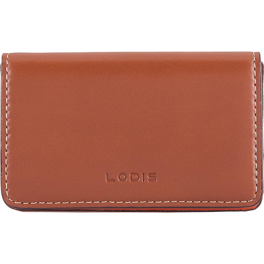 Lodis Audrey RFID Mini Card Case Sequoia/Papaya - Lodis Womens SLG Other - Women's SLG, Women's SLG Other