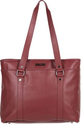 Kenneth Cole Reaction A Majority Leather Tote Red - Kenneth Cole Reaction Women's Business Bags