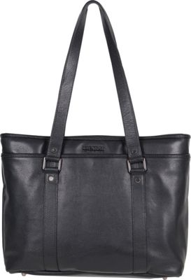 Kenneth Cole Reaction A Majority Leather Tote Black - Kenneth Cole Reaction Women's Business Bags