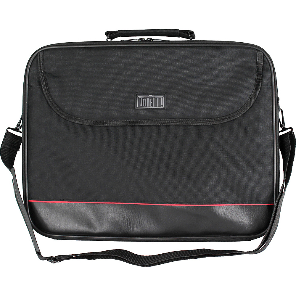 Digital Treasures ToteIt! 15.6 Notebook Bag Black Digital Treasures Non Wheeled Business Cases