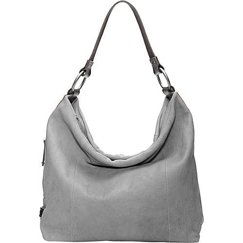 UPC 734941324580 product image for Ellington Handbags Sadie Glazed Hobo  Light Gray - Ellington Handbags Leather ... 1cce051e00bba