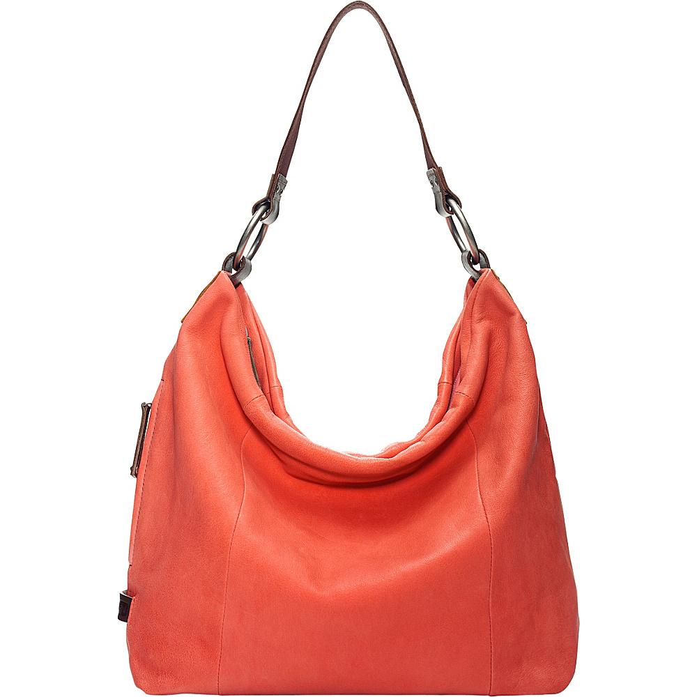 UPC 734941324597 product image for Ellington Handbags Sadie Glazed Hobo  Coral - Ellington Handbags Leather Handbags ... f788cc6e569d6