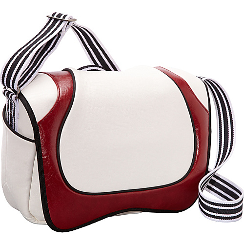 Aerystar Cairo Iconic Series Messenger Bag White / Red / Black - Aerystar Messenger Bags
