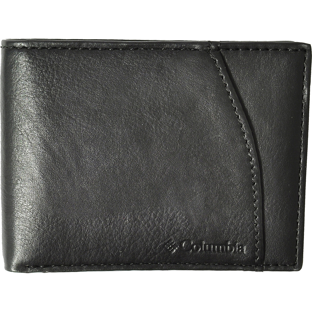 Columbia Extra Capacity Slimfold Black Columbia Men s Wallets