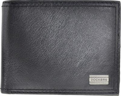 Dockers Leather Passcase Black - Dockers Men's Wallets