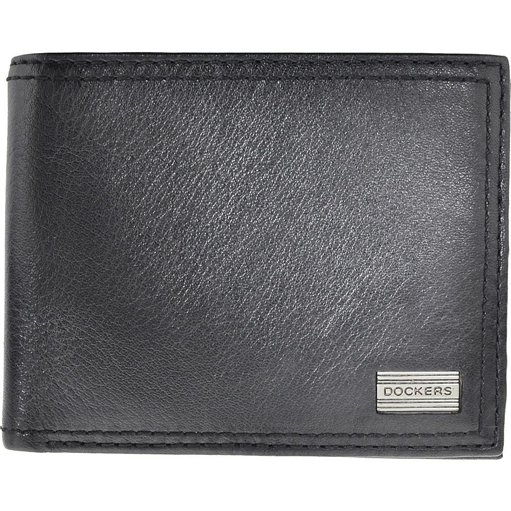 Dockers Leather Passcase Black – Dockers Men's Wallets