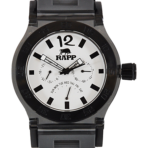RAPP Watches Pink Naples Multi-Function Watch Gray Black - RAPP Watches Watches