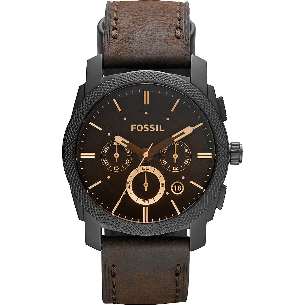 Fossil Machine Brown - Fossil Watches - Fashion Accessories, Watches