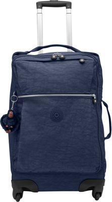 Kipling Darcey 22 inch Carry-On Spinner True Blue - Kipling Hardside Carry-On
