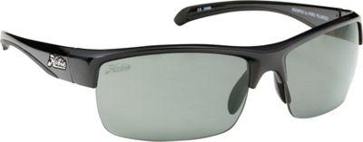 Hobie Eyewear Rockpile Shiny Black Frame With Grey PC Lens - Hobie Eyewear Sunglasses