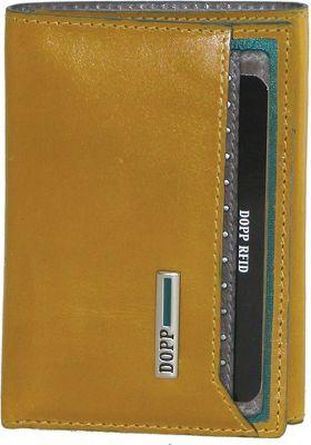 Dopp Beta RFID Three-Fold Gold - Dopp Men's Wallets