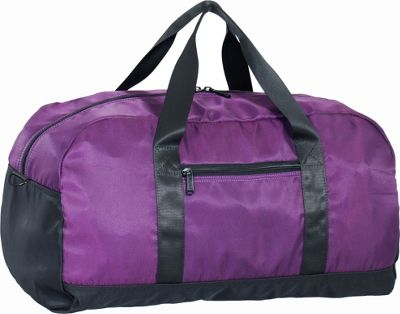 Netpack U-zip  20 inch Ballistic nylon duffel Purple - Netpack Packable Bags