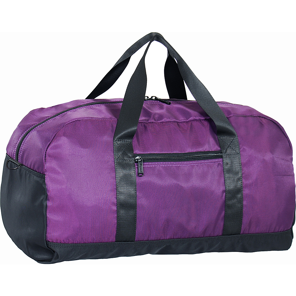 "Netpack U-zip 20"" Ballistic nylon duffel Purple - Netpack Packable Bags"