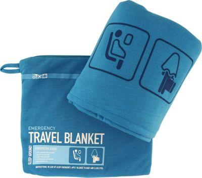 Flight 001 Travel Emergency Blanket Blue - Japan - Flight 001 Travel Pillows & Blankets