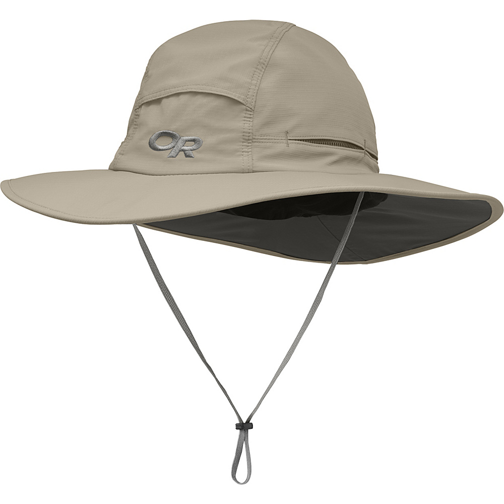 Outdoor Research Sombriolet Sun Hat L - Khaki - Outdoor Research Hats/Gloves/Scarves - Fashion Accessories, Hats/Gloves/Scarves