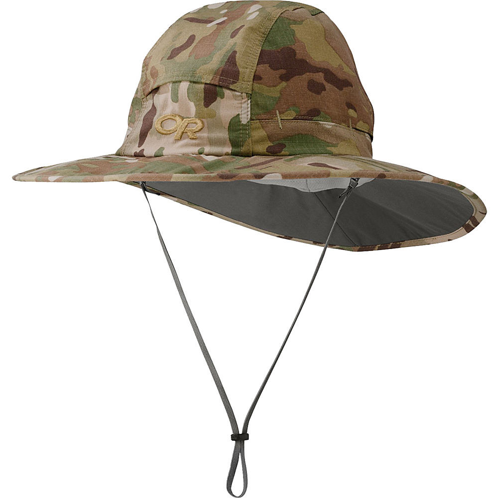 Outdoor Research Sombriolet Sun Hat XL - Multicam - Large - Outdoor Research Hats/Gloves/Scarves - Fashion Accessories, Hats/Gloves/Scarves