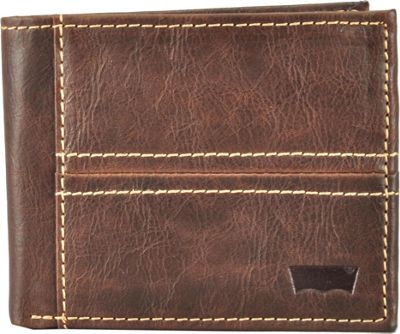 Levi's Traveller Wallet BROWN - Levi's Men's Wallets