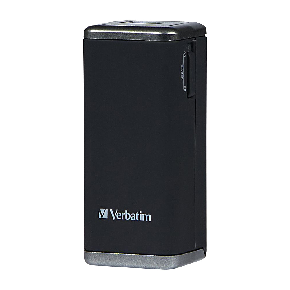 Verbatim AA Power Pack Charger Black Verbatim Portable Batteries Chargers