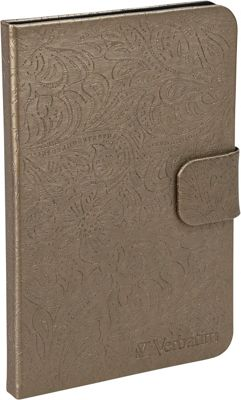 Verbatim Folio Case for Kindle Fire Bronze - Verbatim Electronic Cases