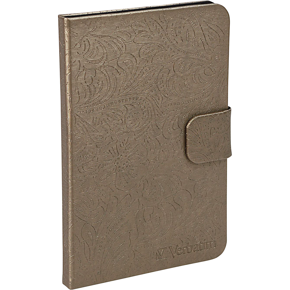 Verbatim Folio Case for Kindle Fire Bronze Verbatim Electronic Cases