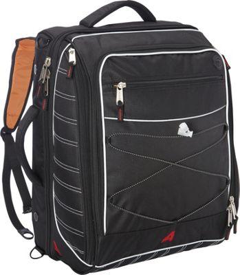 Athalon The Glider Boot Bag/Backpack Black - Athalon Ski and Snowboard Bags