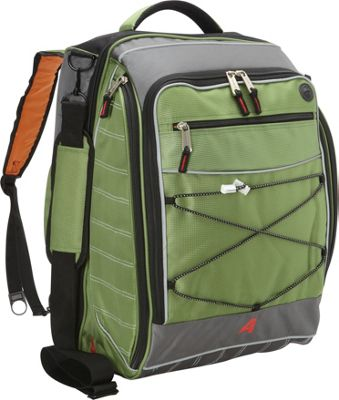 Athalon The Glider Boot Bag/Backpack Grass/Green - Athalon Ski and Snowboard Bags