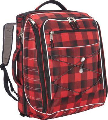 Athalon The Glider Boot Bag/Backpack Lumberjack - Athalon Ski and Snowboard Bags