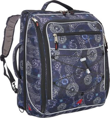 Athalon The Glider Boot Bag/Backpack Batik - Athalon Ski and Snowboard Bags