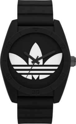 adidas watches Santiago Black with White - adidas watches Watches
